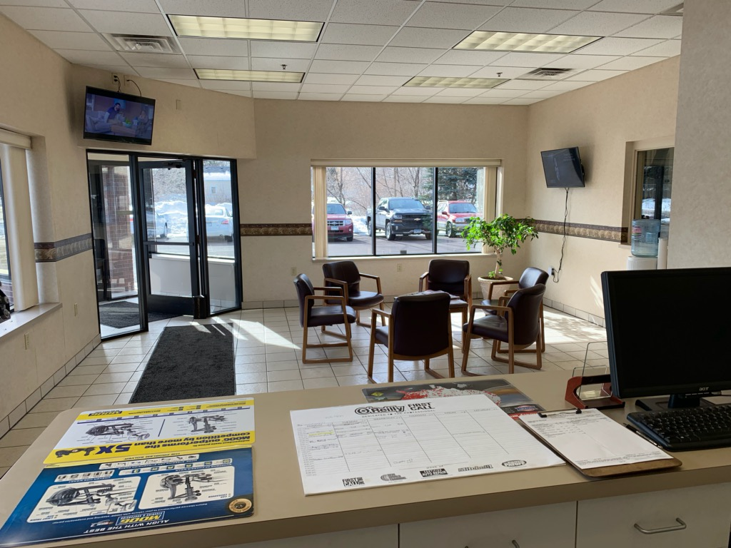 waiting room at SPARKS Affordable Automotive