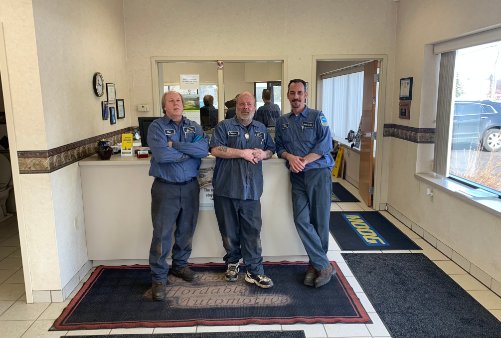 staff at SPARKS Affordable Automotive St. Paul, MN 55109